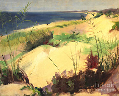Michigan Dunes 1930s Poster by Art By Tolpo Collection