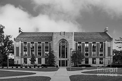 Michigan State University North Kedzie Hall Poster by University Icons