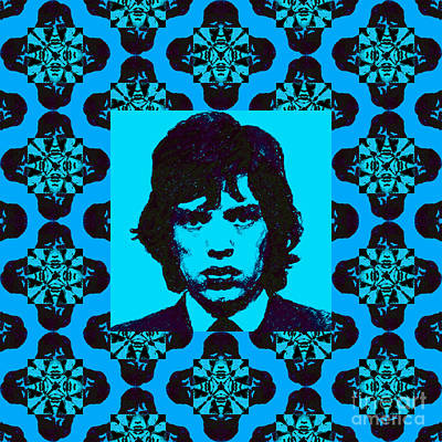 Mick Jagger Abstract Window P168 Poster