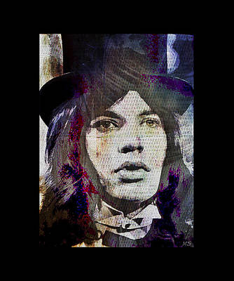 Mick Jagger - Circus Poster by Absinthe Art By Michelle LeAnn Scott
