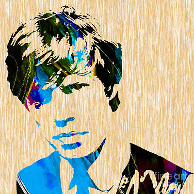 Mick Jagger Of The Rolling Stones1964 Painting Poster by Marvin Blaine