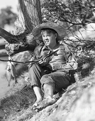Mickey Rooney At Tom Sawyer Poster