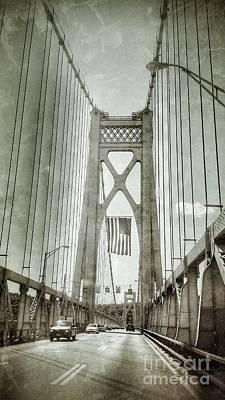 Mid Hudson Suspension Bridge Poster