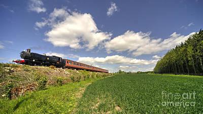 Mid Norfolk Steam  Poster by Rob Hawkins