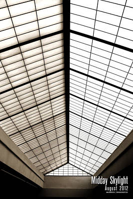 Midday Skylight Poster by Jeff Bell