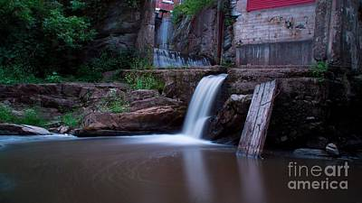 Middlebury Falls. Poster