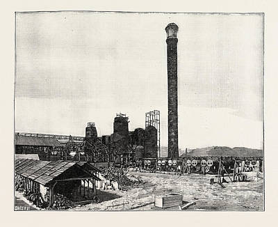 Middlesborough Kentucky The Watts Syndicate Iron Works Usa Poster by English School