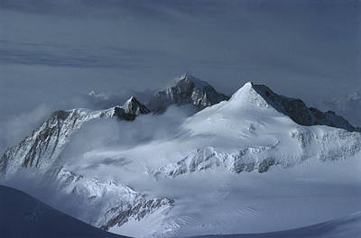 Midnigh Tview From Vinson Massif Poster