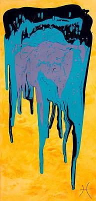 Midnight Desert Poster by Tristina Dietz Elmes