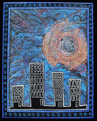 Midnight Sun Poster by Josh Brown