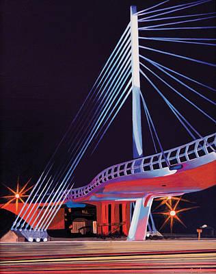 Midtown Greenway Sabo Bridge Poster by Jude Labuszewski