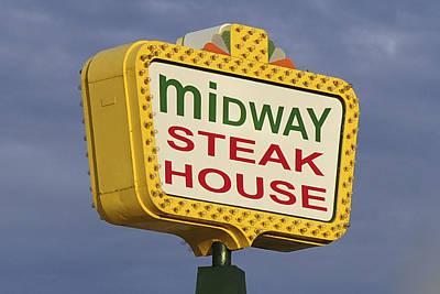 Midway Seaside Heights Boardwalk Nj Poster