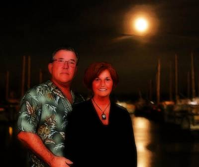 Mike And Sue And The Former Fort Pierce Marina Poster