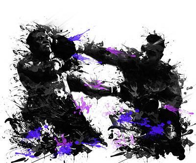 Mike Tyson Poster by Bekim Art