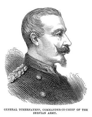 Mikhail Chernyayev (1828-1898) Poster by Granger