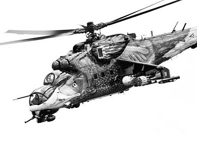 Mil 24 Hind Poster