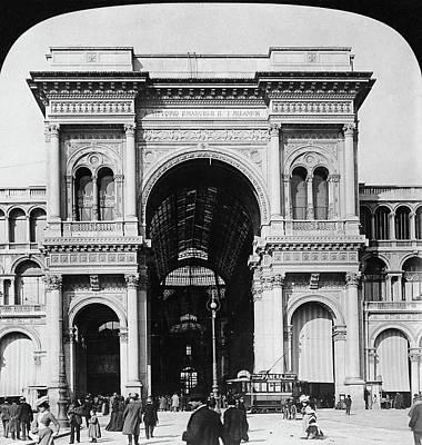 Milan Galleria, 1908 Poster