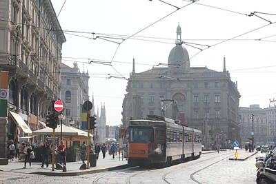 Milan Tram Poster