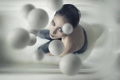 Milky Balls Poster by Hardibudi