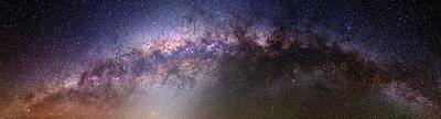 Milky Way And Galactic Centre Poster