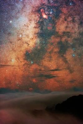 Milky Way And Sagittarius Poster