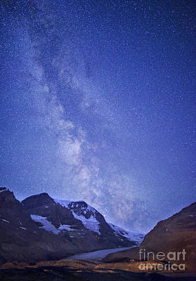 Milky Way In Jasper Poster by Dan Jurak