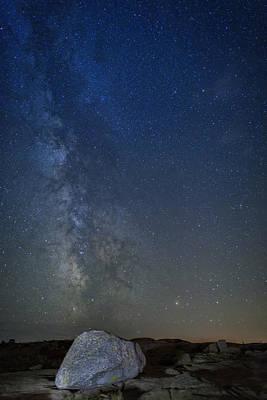 Milky Way Over Cadillac Poster by Rick Berk
