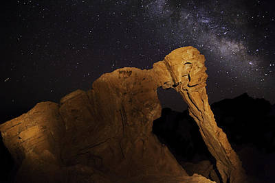 Poster featuring the photograph Milky Way Over The Elephant 3 by James Sage