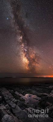 Milky Way Tide Pool Poster