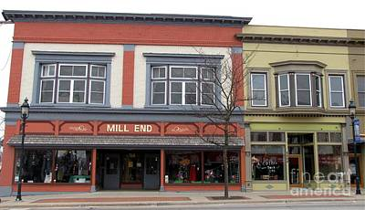 Mill End Store In Clare Michigan Poster