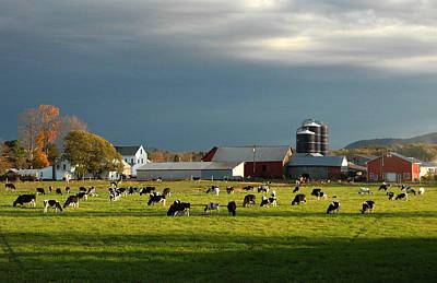 Miller Farm Poster by Paul Miller