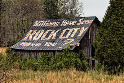 Millions Have Seen Rock City Poster