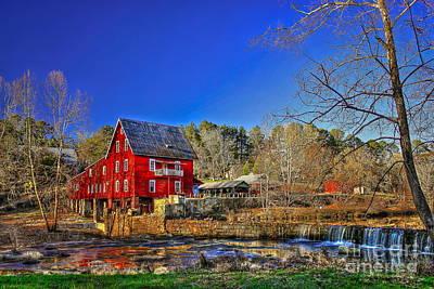 Historic Millmore Mill Shoulder Bone Creek Poster