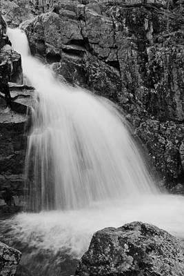 Mina Sauk Falls On Taum Sauk Mountain In The Ozarks Poster by Greg Matchick