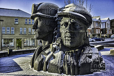 Miners In The Snow 1 Poster