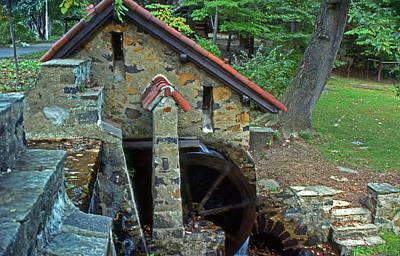 Mini Mill Poster by Skip Willits