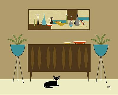 Mini Still Life Poster by Donna Mibus