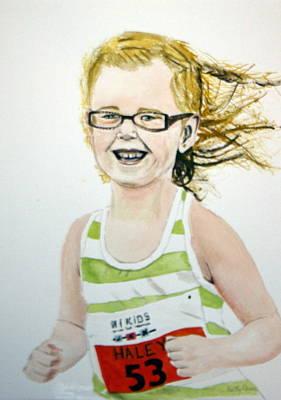 Mini Tri Athlete Poster