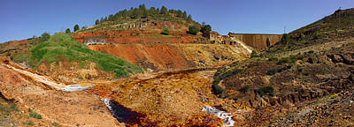Mining Effects On Landscape At Rio Poster by Panoramic Images
