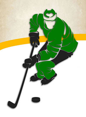 Minnesota North Stars Rink Poster by Joe Hamilton