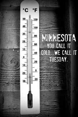 Minnesota Travel Poster Poster by Amanda Stadther