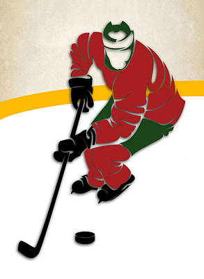 Minnesota Wild Rink Poster by Joe Hamilton