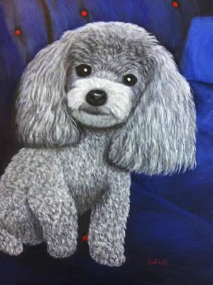 Poster featuring the painting Minnie by Karen Zuk Rosenblatt