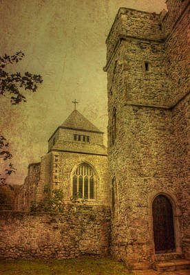 Minster Abbey And Gatehouse Poster