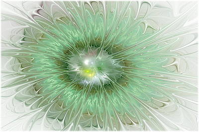 Mint Green Poster by Svetlana Nikolova