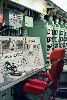 Minuteman Missile Control Room Poster