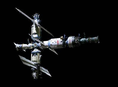 Mir Space Station Poster by Babak Tafreshi