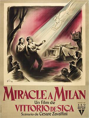Miracle In Milan, Aka Miracolo A Poster by Everett