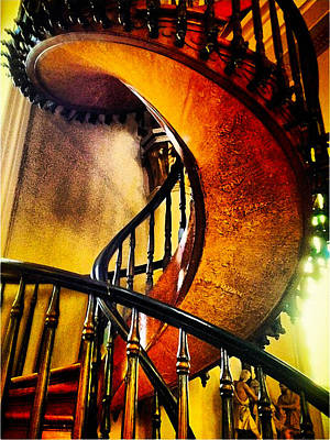 Poster featuring the photograph Miracle Staircase by Paul Cutright