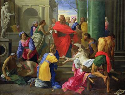 Miracles Of St. Paul At Ephesus, 1693 Oil On Canvas Poster
